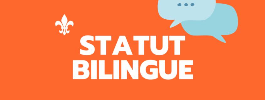 Statut bilingue