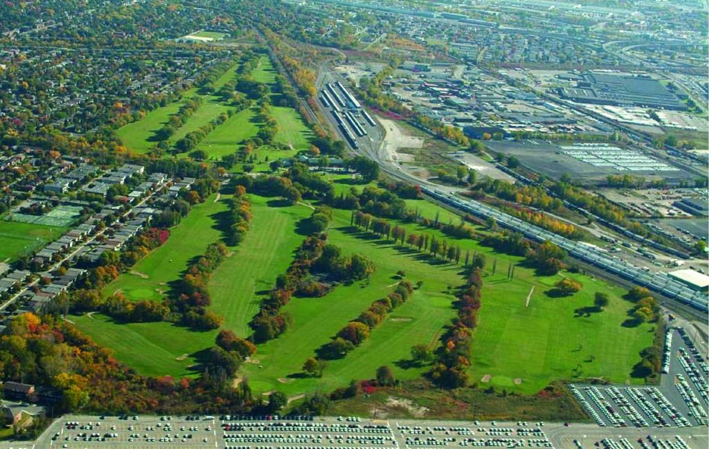 Aerial view of Meadowbrook