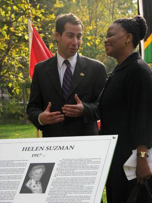 Helen Suzman Plaque