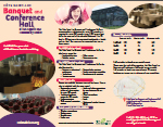 Hall Rental Brochure
